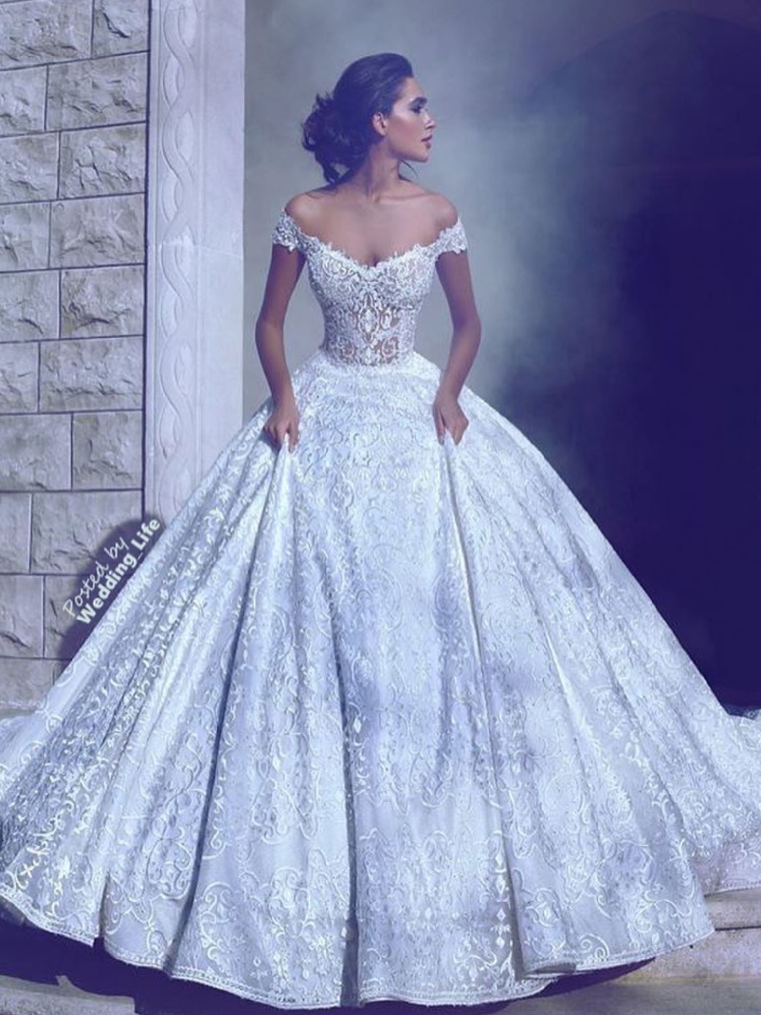 Love this fairytale dress. The skirt is perfect | Wedding - Dress ...