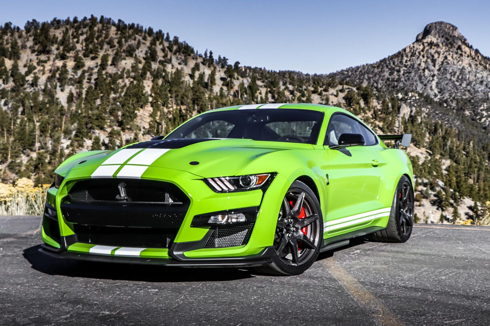 2020 Ford Mustang Shelby Gt500 Review Trims Specs And Price Carbuzz Mustang Shelby Ford Mustang Shelby Gt500 Ford Mustang Shelby