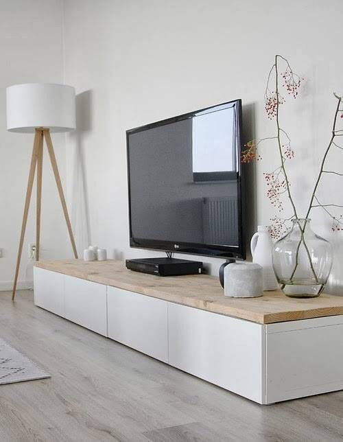 Tv board ikea holz  Tv-benk - bestå + benkeplate IKEA | Home | Pinterest | Living ...