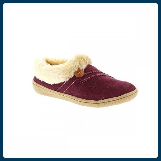 Clarks Eskimo Schnee Womens Ausgekleidet Voll Mule Hausschuhe 3 D (M) UK/ 35.5 EU Berry Kid Suede - Hausschuhe für frauen (*Partner-Link)