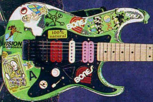 steve vai guitars - Google 検索 | The Green Meanie | Pinterest ...