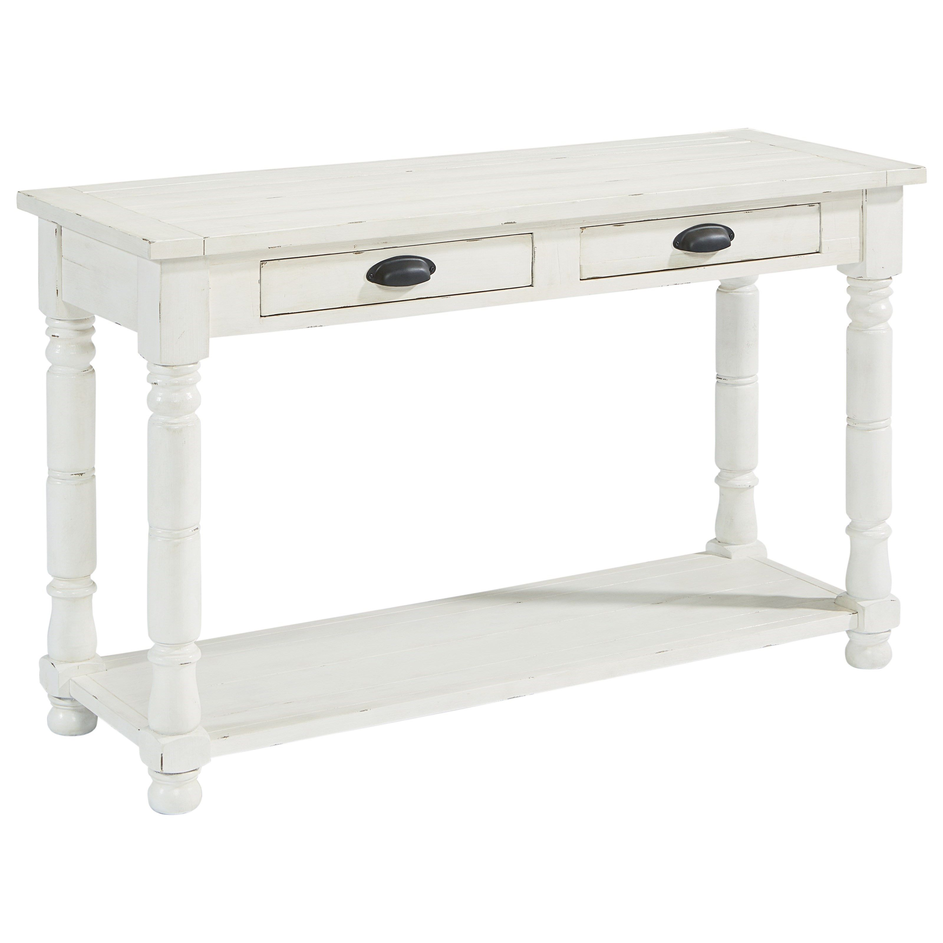 Primitive Bobbin Console Table by Magnolia Home by Joanna Gaines
