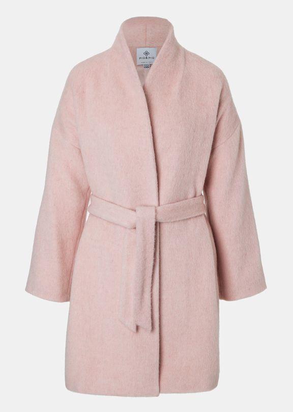 Piupiu Pastell Pink Mantel Pastell Pink