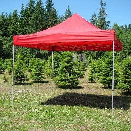 official photos 6cb67 98d92 Pro-Wheel Aluminum Canopy - 10ft. x 10ft. - Red w/ Heavy ...