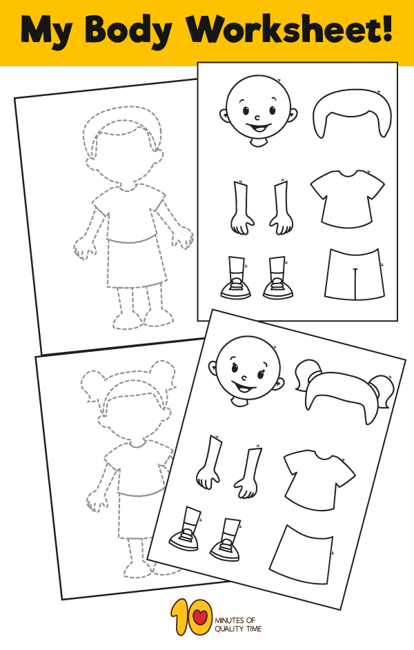 my body worksheet for kids diy classroom activities and worksheets for school kids body. Black Bedroom Furniture Sets. Home Design Ideas