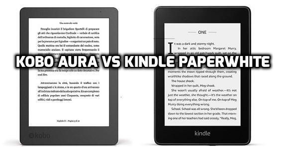 Kobo Aura Vs Kindle Paperwhite Comparison And Review Kindle Paperwhite Paperwhites Kindle