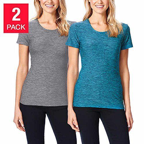 NEW 32 Degrees Weatherproof Women's Short Sleeve Scoop Neck Cool T-Shirt Medium