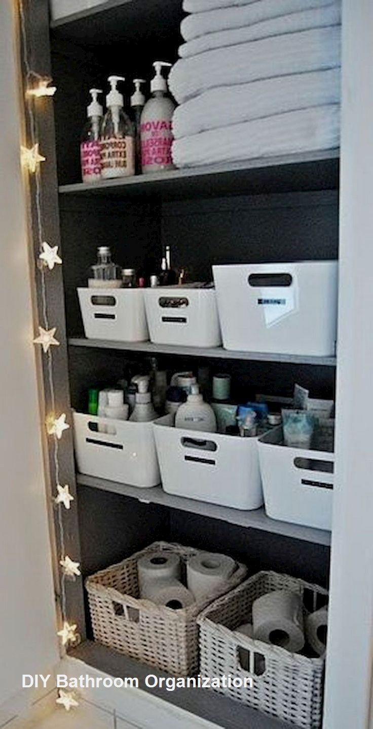 Diy Bathroom Organization Ideas Diy Bathroom Storage Bathroom Organization Diy Bathroom Storage Organization