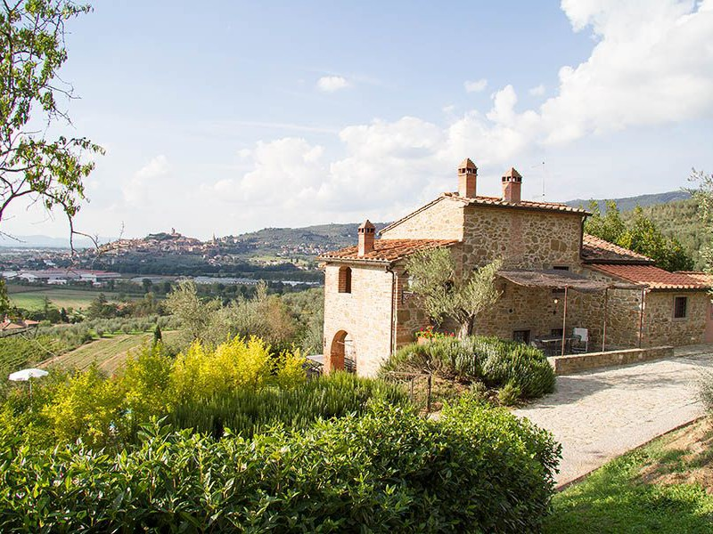 Arezzo Villa Villa Tarlati Fur Bis Zu 8 Personen Privater Pool Sonnigetoskana Ferienhaus