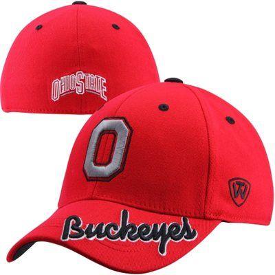 on sale aec6f 2283b Top of the World Ohio State Buckeyes Top Notch Flex Hat - Scarlet