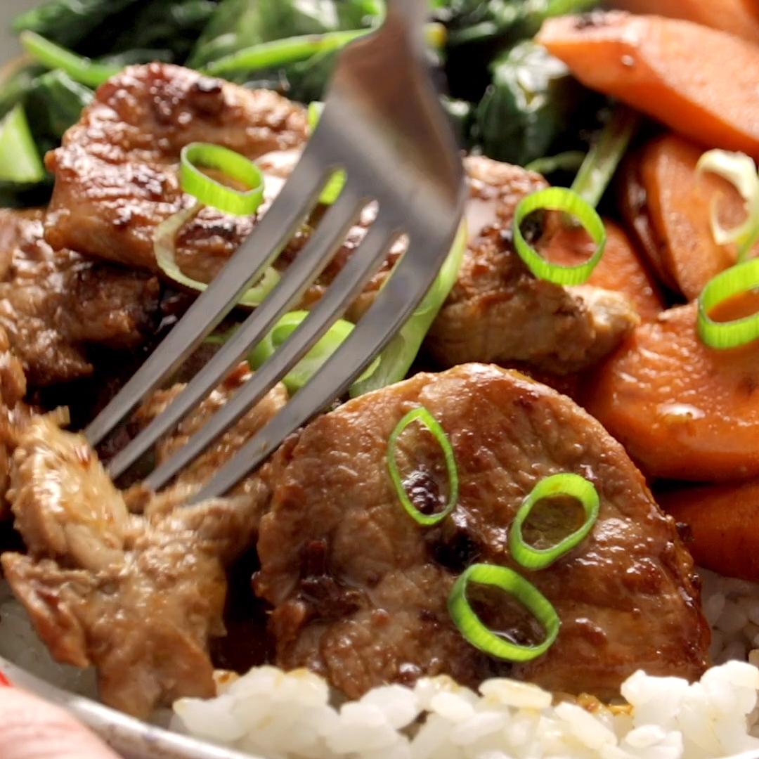 5 Ingredient Spicy Pork images