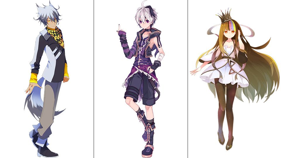 Vocaloid Singers Have The Coolest Character Designs Character Design Vocaloid Characters Vocaloid