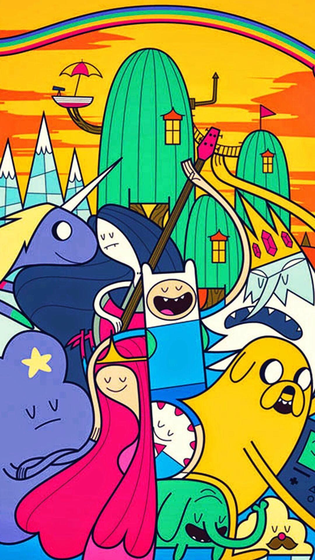 Pin by nam on Wallpaper Adventure time wallpaper