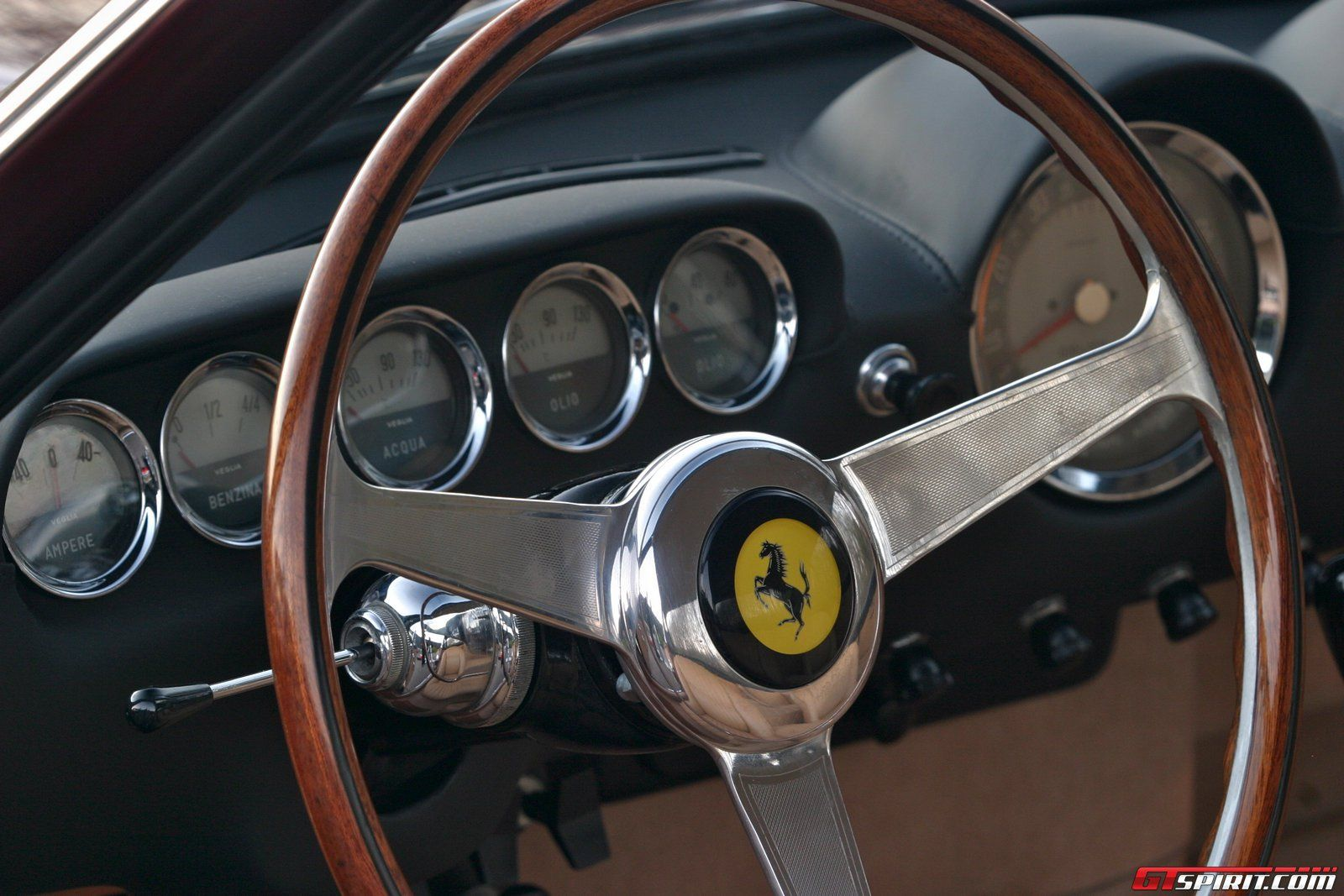 1963 Ferrari 250 Gt Lusso Wood Rimmed Nardi Steering Wheel Lifted Trucks Car Parts