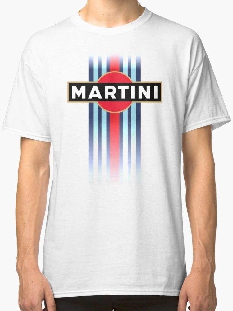 Martini Racing Stripe Men S T Shirt White Eqbird Shop Martini Racing Stripes Mens Tshirts Printed Shirts