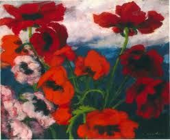 Emil Nolde Mohnblumen Emil Nolde Art For Art Sake Flower Painting