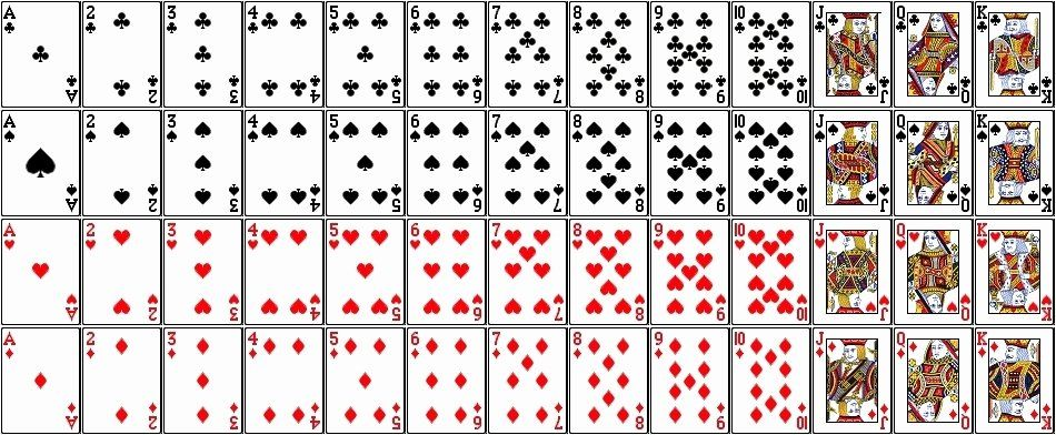 Printable Blank Playing Cards Inspirational Printable Playing Cards Pdf Printable Playing Cards Playing Cards Design Blank Playing Cards