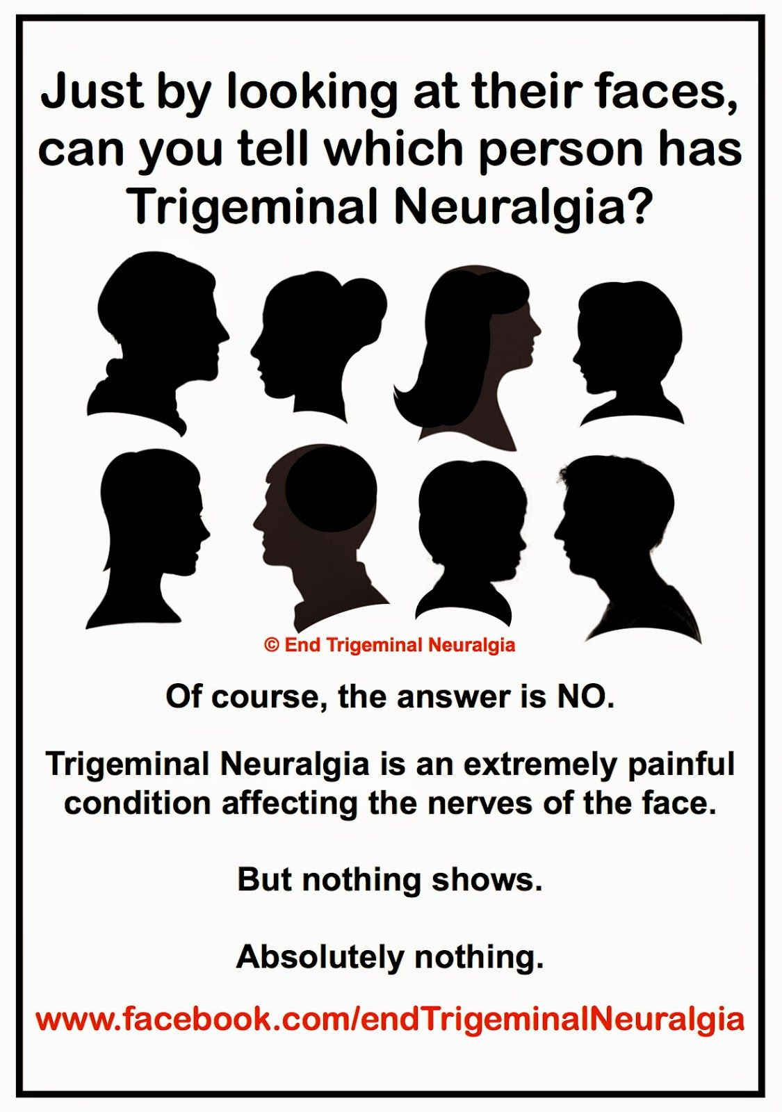 End Trigeminal Neuralgia Invisible Conditions