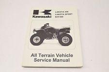 Oem Kawasaki Service Manual 95 04 Lakota 300 X2f Sport X2f Kef300 In Ebay Motors Parts Amp Accessories Manuals Lakota Kawasaki Vehicle Service Manuals