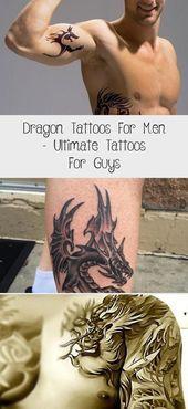 Photo of Dragon Tattoos für Männer – Ultimative Tattoos für Männer #Wholearmtattoosformen #arm …