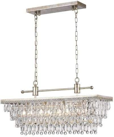 Trent Austin Design Barta 4 Light Crystal Chandelier Crystal Chandelier Pendant Lighting Crystal Pendant Lighting
