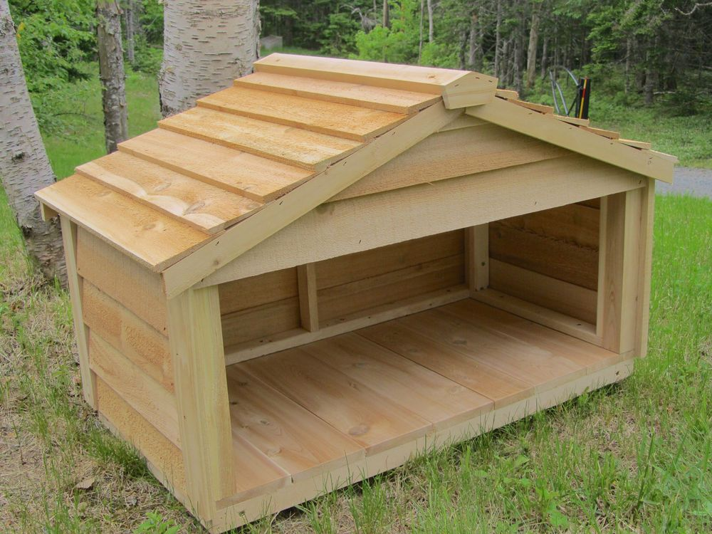 OUTDOOR DOG SHELTER This is exactly what I want in the