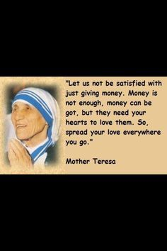 Mother Teresa Humility Quotes Mother Teresa More Fav Peep Blessed