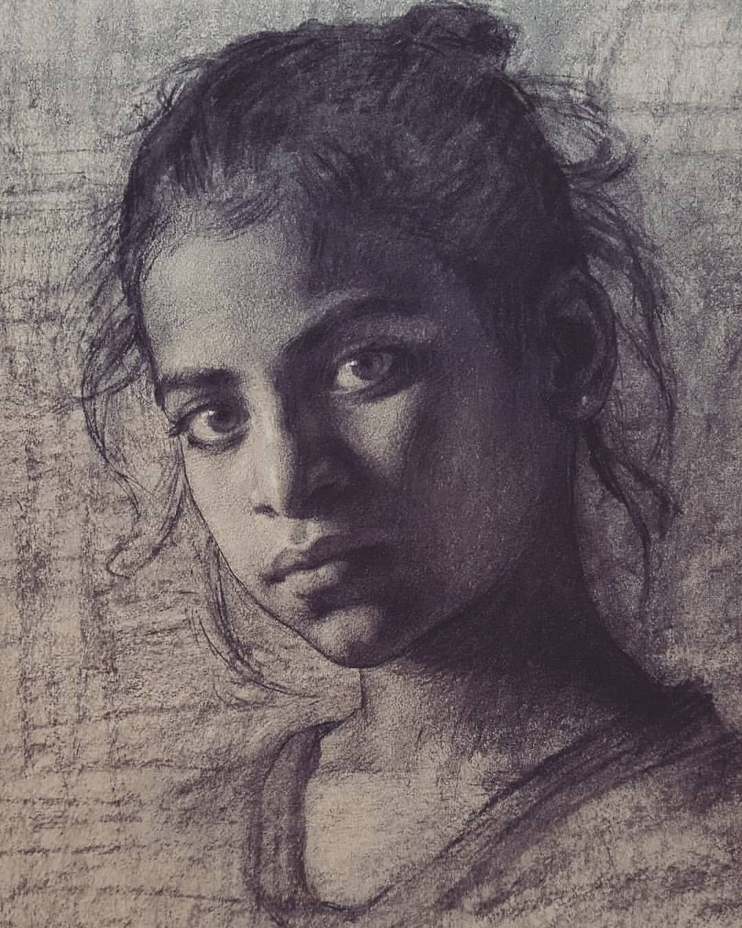 Original Art Approach Original Portrait Pencil Drawing Portrait Sketch Figurative Art Realism