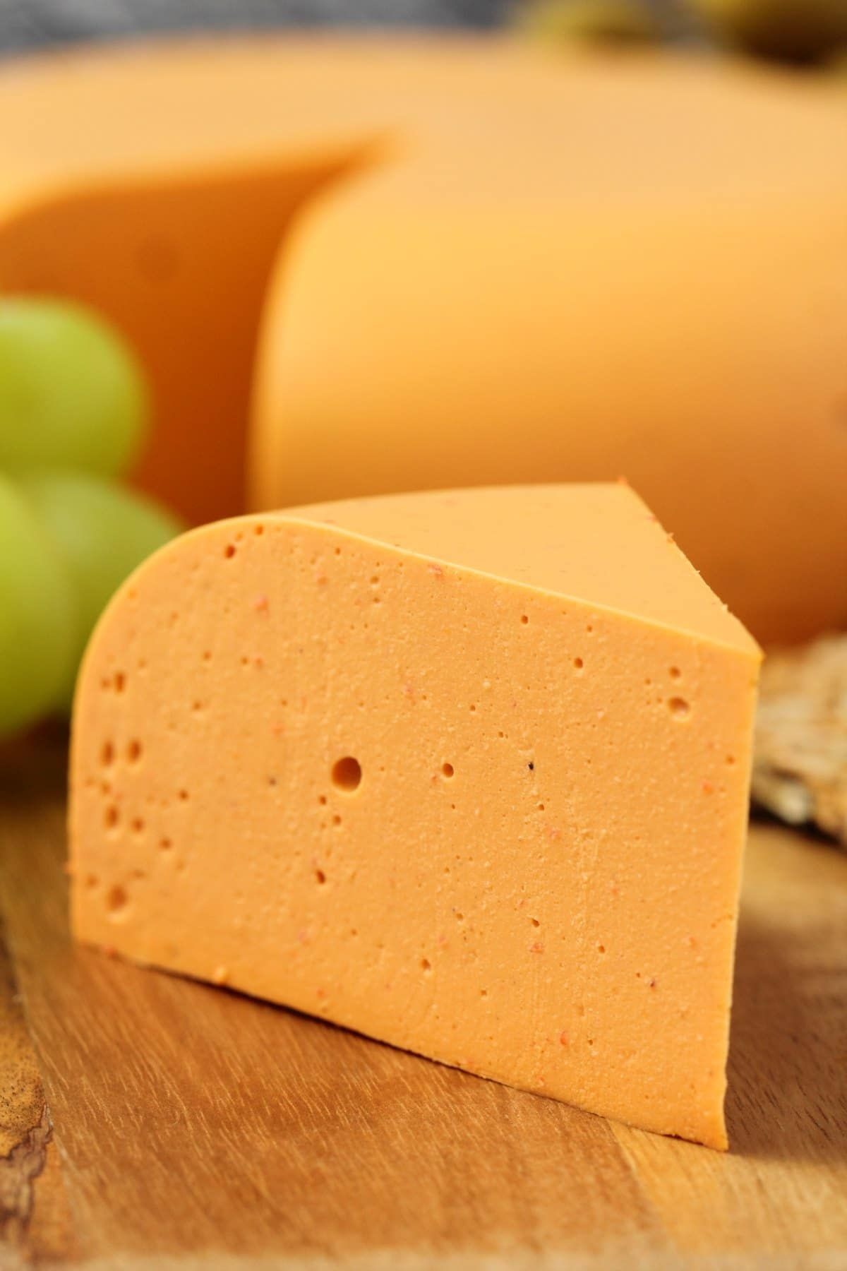 Smoky Red Pepper Vegan Cheddar Cheese Firm And Sliceable And Totally Delicious On Crackers Or Sandwich Vegan Cheddar Cheese Vegan Cheddar Vegan Cheese Recipes