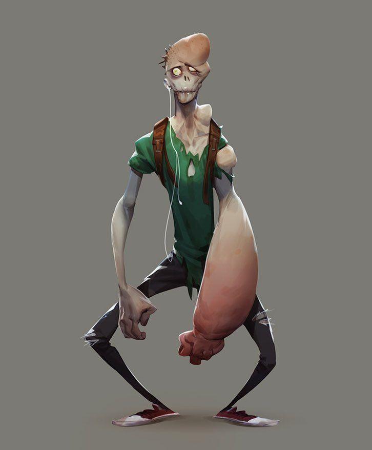 Digital Chisel: Zombie Boy tutorial