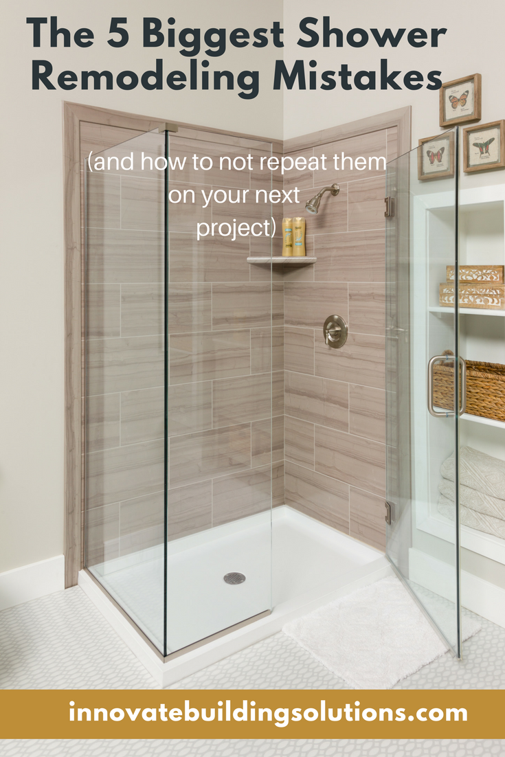 If You Re Looking To Install A New Tile Shower Remember Before Do It