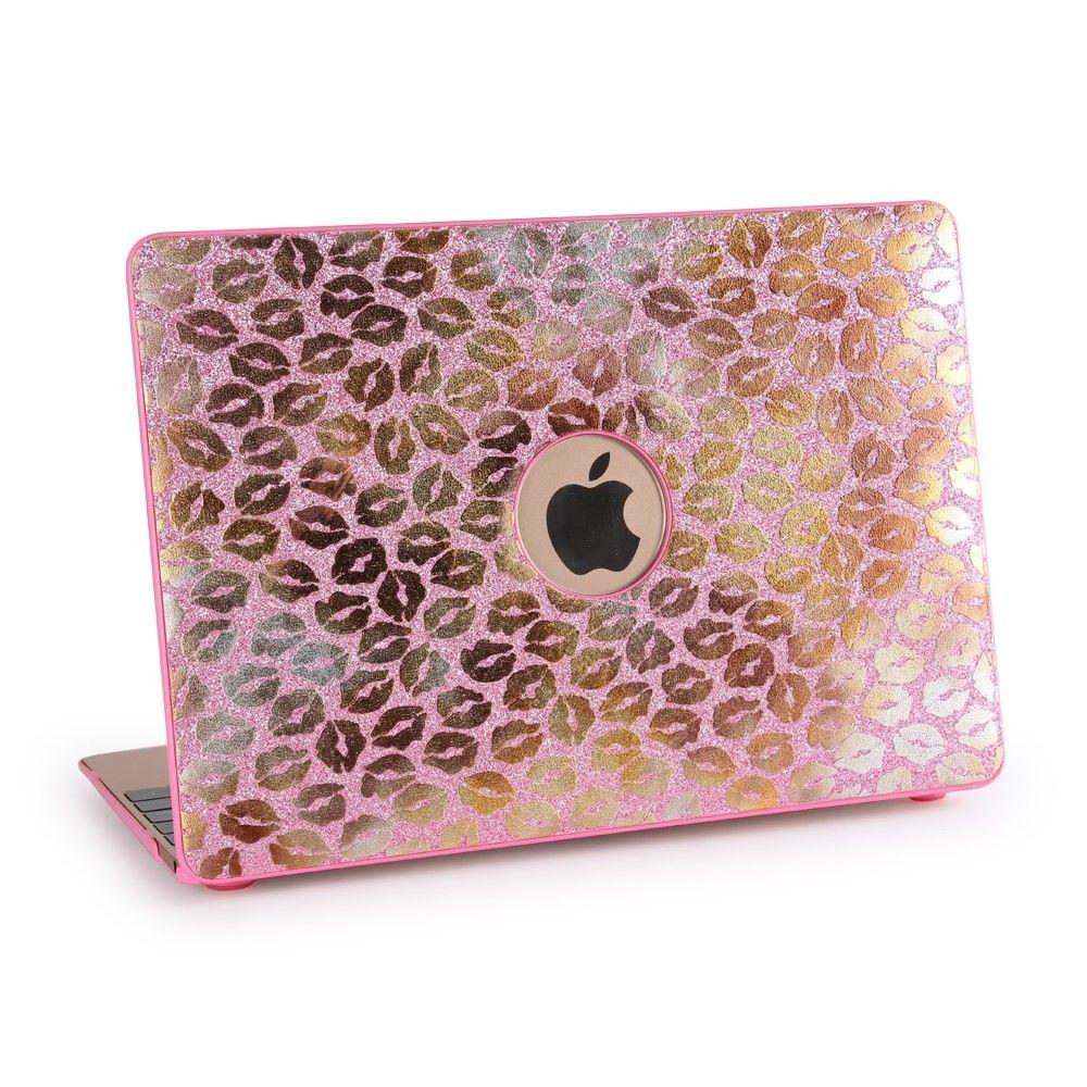 coque macbook pro 13 pouces cran retina rose golden lips golden macbooks i love macbook