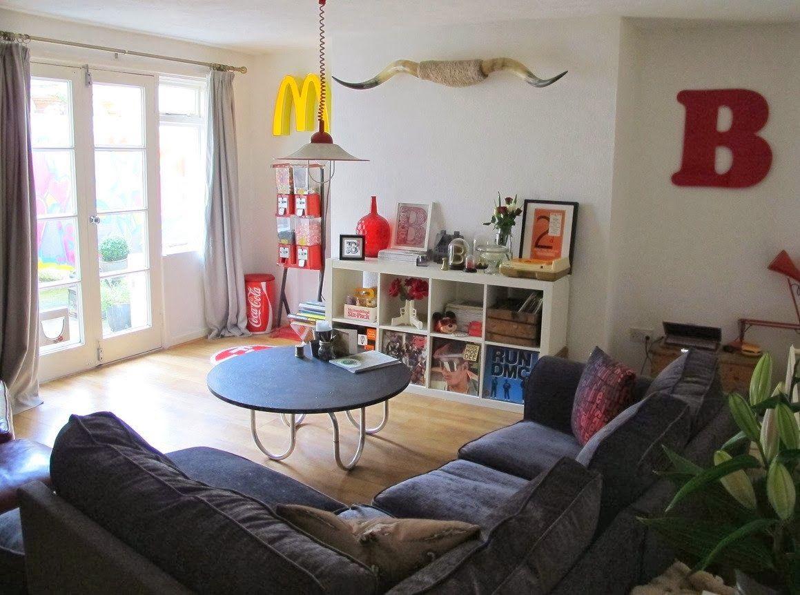 我們看到了。我們是生活@家。: 英國Becky的公寓,來自居家好站apartment therapy