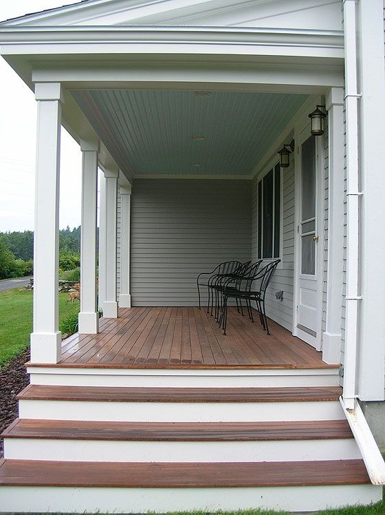 Front Porch Steps Ideas