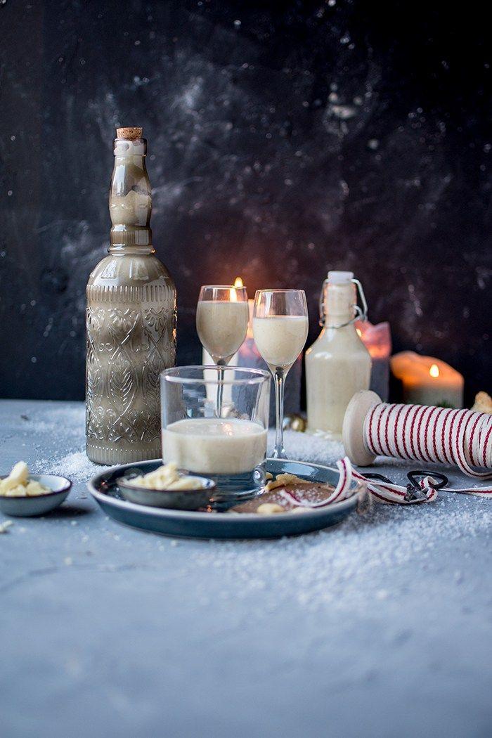 Weiße Schokolade Vanille Likör Ein Geschenk aus der Küche - geschenk aus der küche