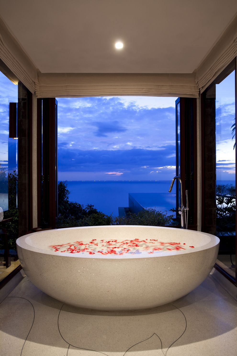 Or A Completely Circular Tub With Views Of Phuket Dream