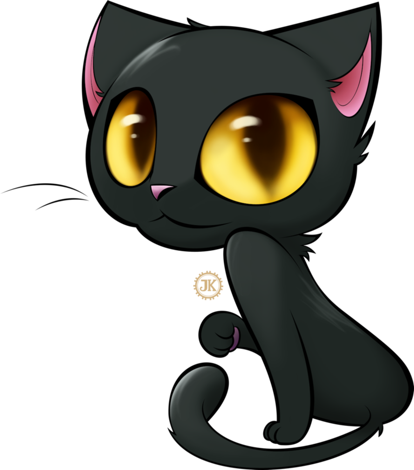 Black Cat Cartoon Cute Hd Png Download Is Pure And Creative Png Image Uploaded By Designer To Search More Free Png Image On Vhv Cartoon Cat Black Cat Cartoon