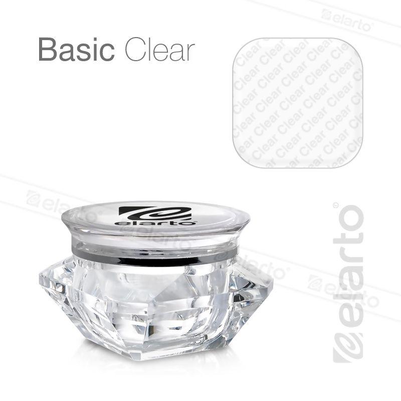 Żel bezbarwny średniogęsty Basic Clear 50g #elarto #basci #clear