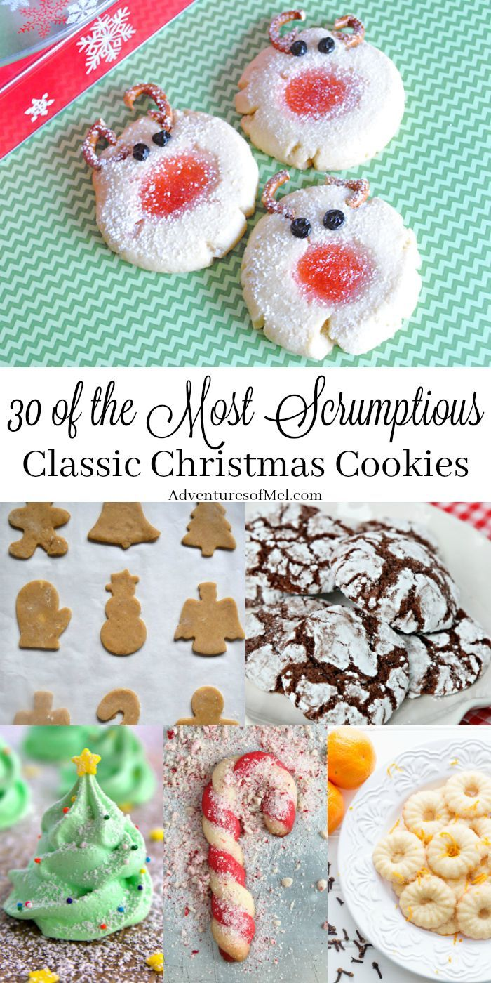Baking is a holiday tradition as are family favorite recipes for 30 of the most scrumptious classic christmas cookies ever forumfinder Images