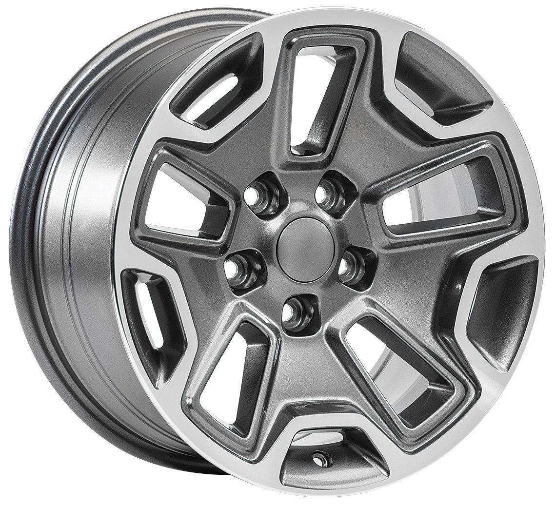 Hardrock Wheel for 07-20 Jeep Wrangler JK, JL and Gladiator JT | Wheel