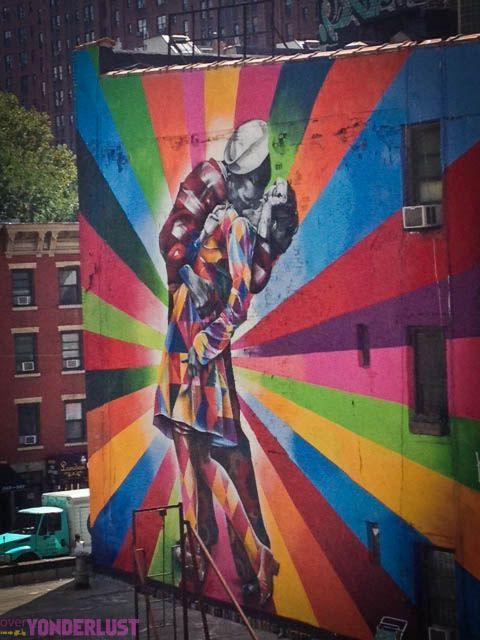 Great street art in NYC!