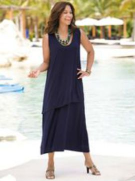 Summer dress over 50 clothing