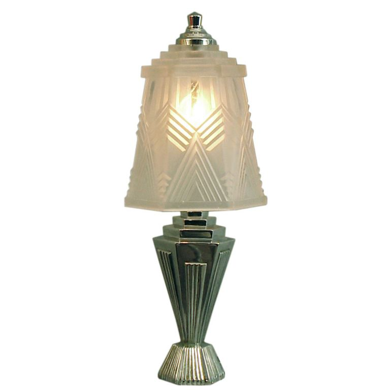 ode to geometry french art deco table lamp art deco table lamps