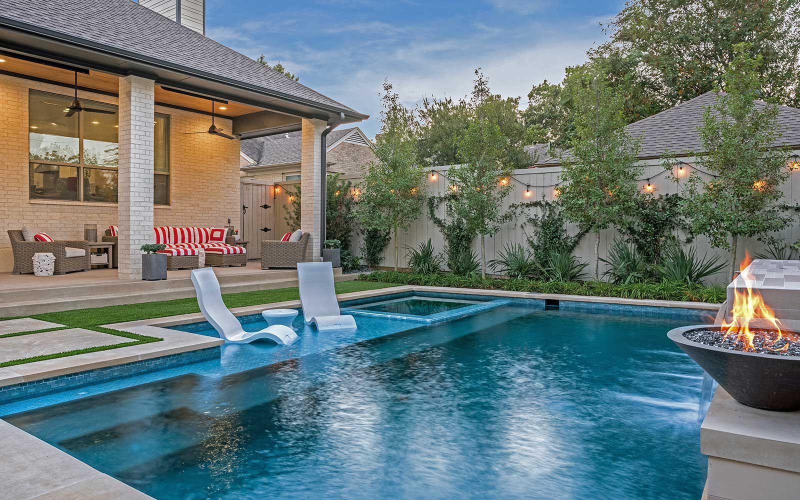 Ddla Design Dallas Landscape Architect Modern Pool Design Lakewood Neighborhood Ddladesign Pool Builders Small Pool Design Pools Backyard Inground