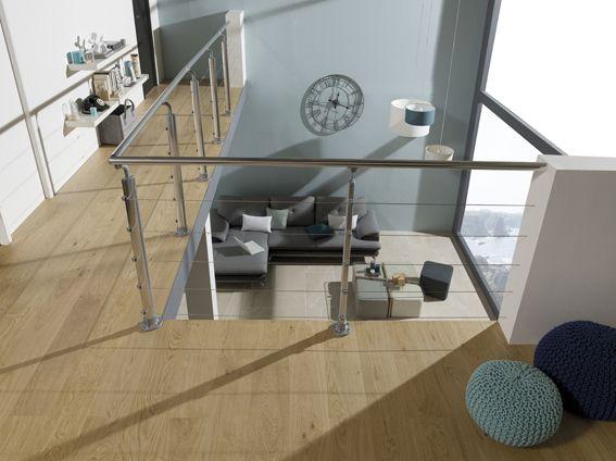 salon vue de lu0027etage grande baie vitree Villas Pinterest