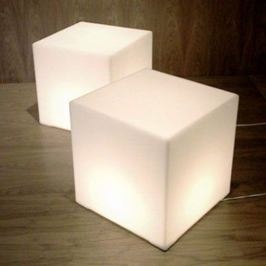 Love The Light Cubes Also Check Ikea Modern Floor Lamps