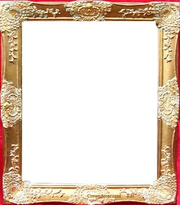 Crown Decor High Quality Oil Paint Wedding Picture Frameswedding