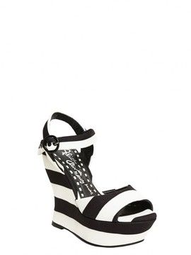 b85c68166 Jana Striped Canvas Wedge on shopstyle.com by alice + olivia ...
