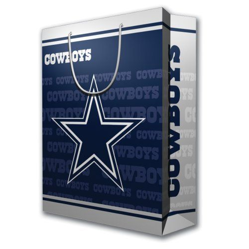 NFL Dallas Cowboys Gift Bag, Large by PSG. $6.91. Dallas Cowboys ...