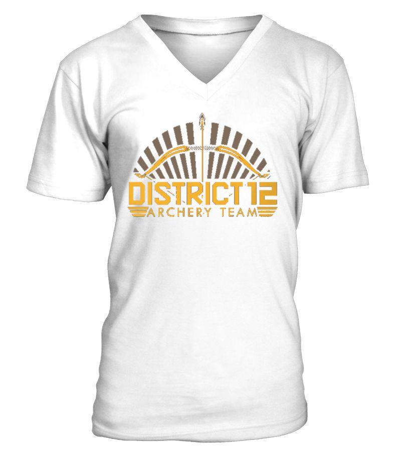 Archery T-Shirt Design - District 12 Team #gift #idea #shirt ...